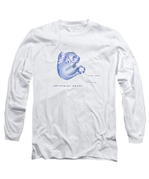Artificial Heart Long Sleeve T-Shirt