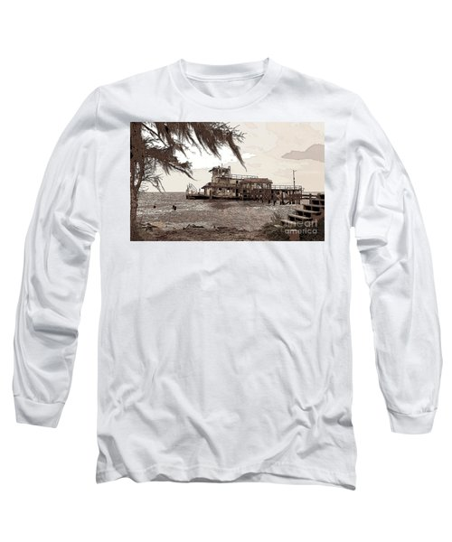 Tugboat From Louisiana Katrina Long Sleeve T-Shirt