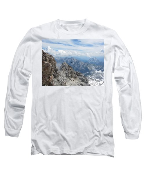 Long Sleeve T-Shirt featuring the photograph As The Crow Flies by Pema Hou
