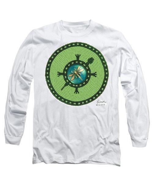 Ashlee's Dragonfly Turtle Long Sleeve T-Shirt
