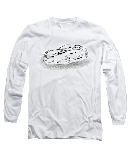 Aston Martin Long Sleeve T-Shirt by Rogerio Mariani