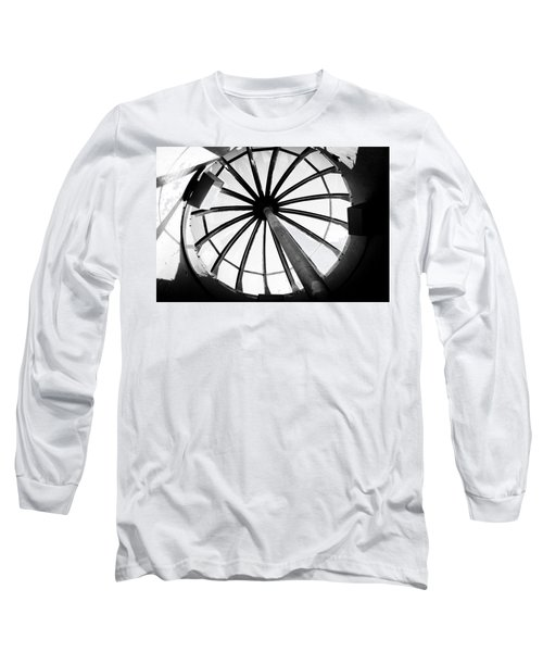 Long Sleeve T-Shirt featuring the photograph Astoria Column Dome by Aaron Berg