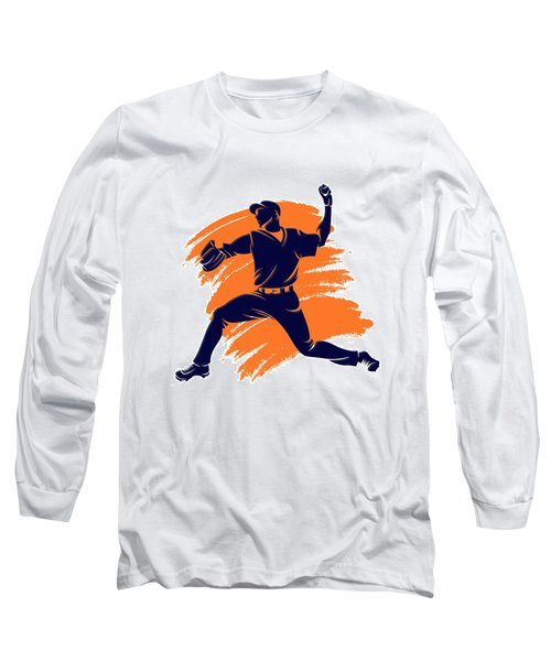 Astros Shadow Player2 Long Sleeve T-Shirt
