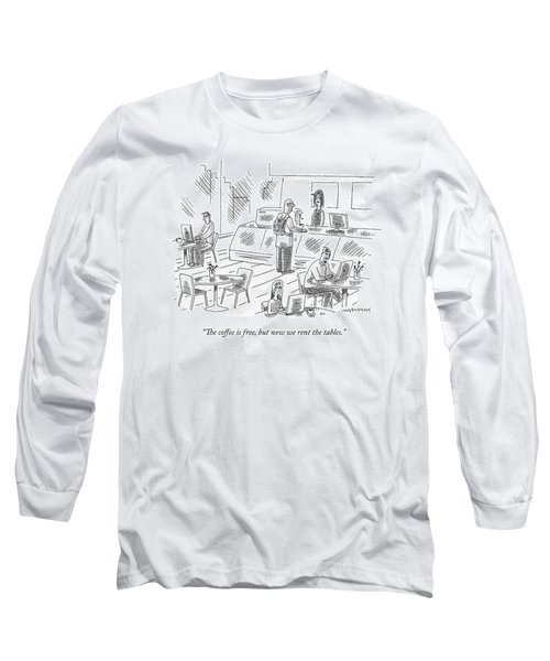 At An Internet Cafe Long Sleeve T-Shirt