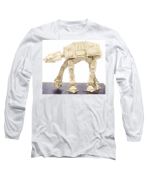 At-at All Terrain Armored Transport Long Sleeve T-Shirt