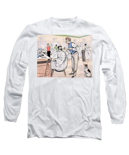At The Barber And Reading Le Jockey Long Sleeve T-Shirt