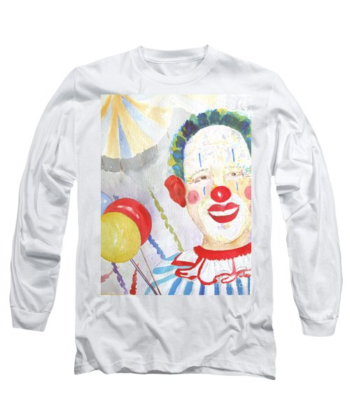 Long Sleeve T-Shirt featuring the painting At The Circus by Sandy McIntire