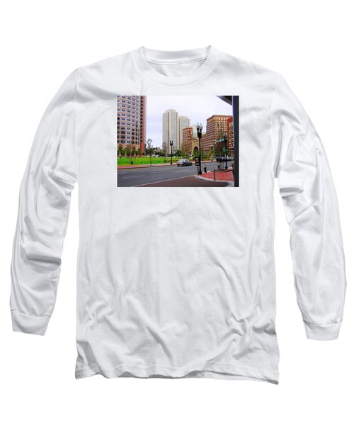 Atlantic Avenue Long Sleeve T-Shirt by Oleg Zavarzin