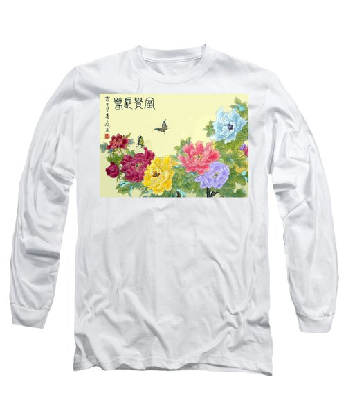Auspicious Spring Long Sleeve T-Shirt