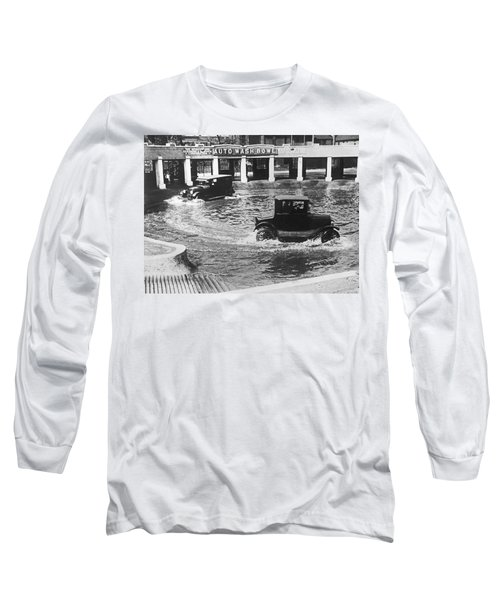Auto Wash Bowl Long Sleeve T-Shirt