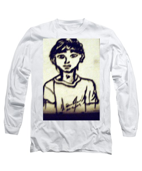 Autographed Drawing Long Sleeve T-Shirt