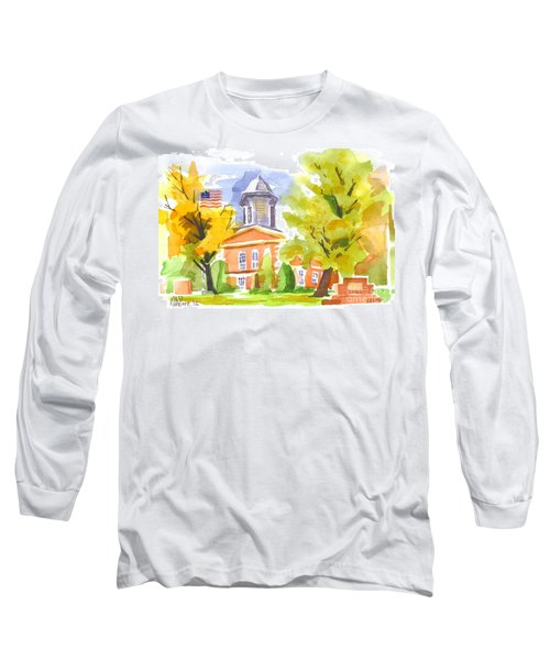 Autumn At The Courthouse Long Sleeve T-Shirt