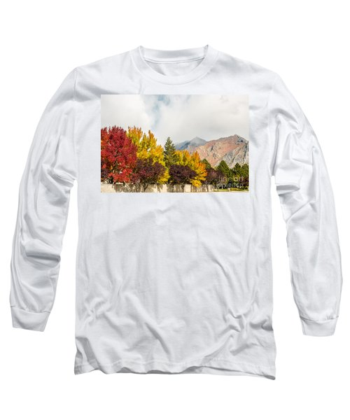 Long Sleeve T-Shirt featuring the photograph Autumn In The City by Sue Smith