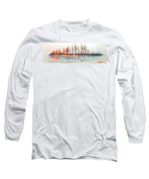 Autumn In The Hamptons Long Sleeve T-Shirt
