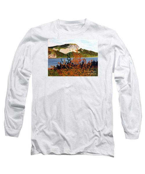 Autumn Sunset On The Hills Long Sleeve T-Shirt by Barbara Griffin