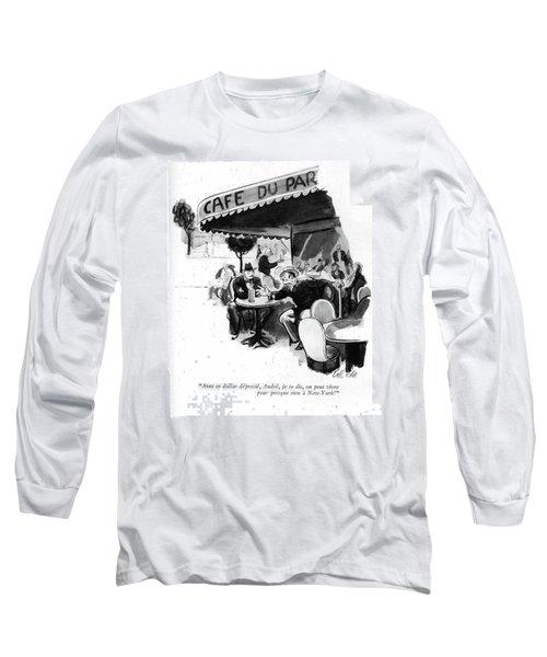 Avec Ce Dollar Deprecie Long Sleeve T-Shirt