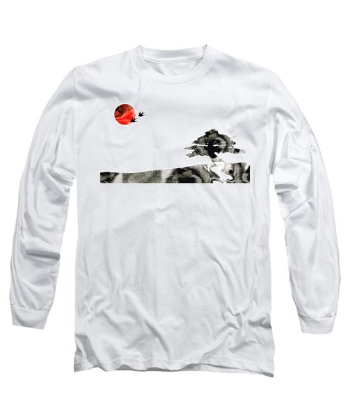 Awakening - Zen Landscape Art Long Sleeve T-Shirt