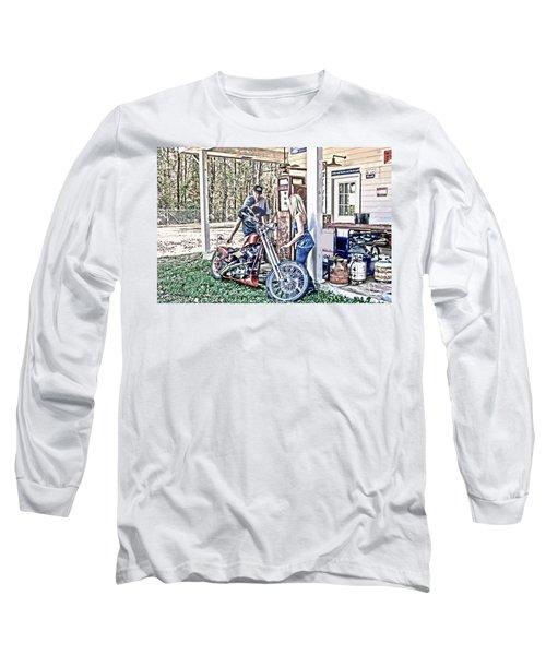Long Sleeve T-Shirt featuring the digital art Aztec 101 Artwork    by Lesa Fine