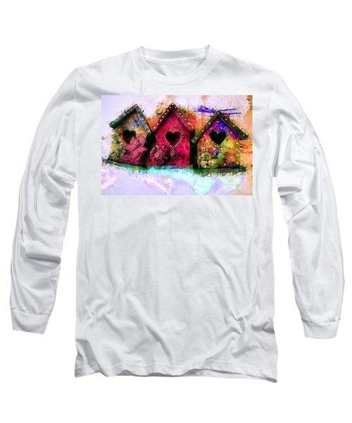Baby Birdhouses Long Sleeve T-Shirt