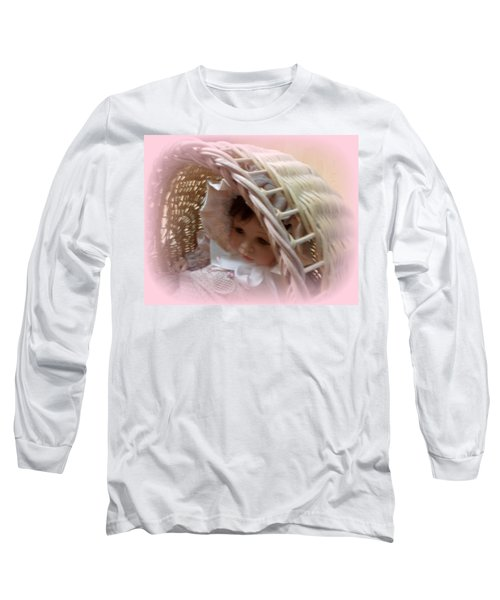Baby In Pink Long Sleeve T-Shirt