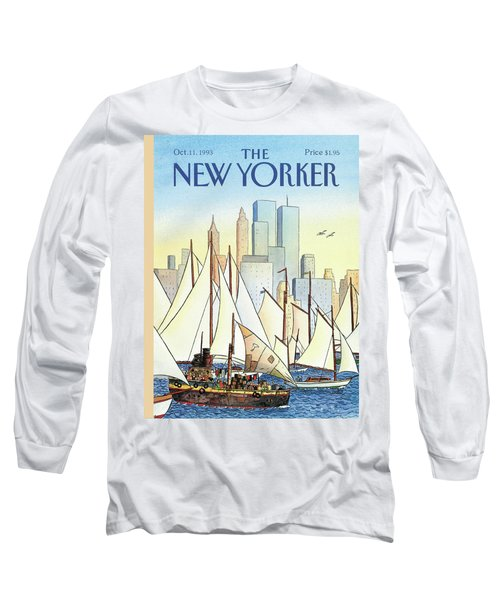 Back In The New World Long Sleeve T-Shirt