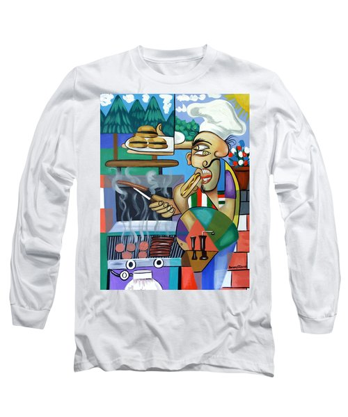 Backyard Chef Long Sleeve T-Shirt
