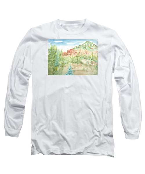 Backyard Sedona Long Sleeve T-Shirt