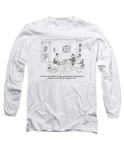 Bad News, Kenny.  When The Judge Awarded All Long Sleeve T-Shirt