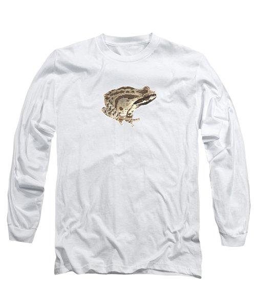 Baja California Treefrog Long Sleeve T-Shirt by Cindy Hitchcock