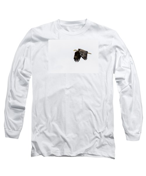 Bald Eagle 3 Long Sleeve T-Shirt by David Lester