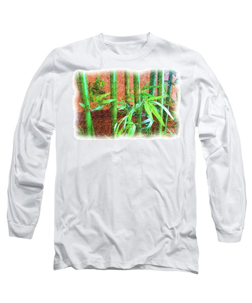 Bamboo #1 Long Sleeve T-Shirt