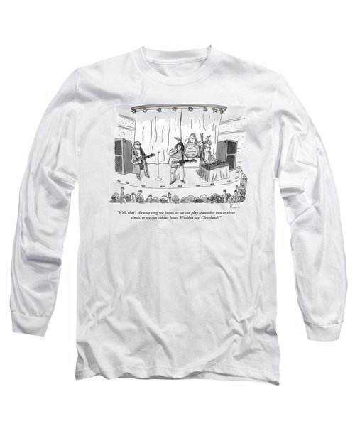 Band On Stage Long Sleeve T-Shirt