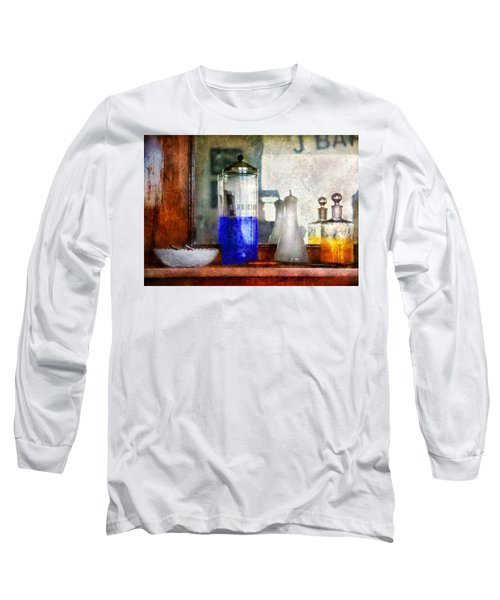 Barber - Blueberry Flavored Thanks For Asking Long Sleeve T-Shirt