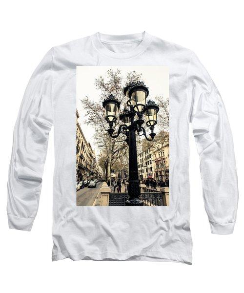 Barcelona - La Rambla Long Sleeve T-Shirt