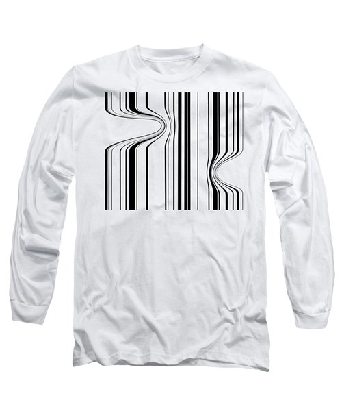 Long Sleeve T-Shirt featuring the painting Barcode  C2014 by Paul Ashby