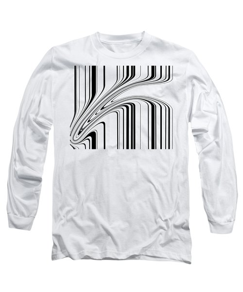 Long Sleeve T-Shirt featuring the painting Barcode II  C2014 by Paul Ashby