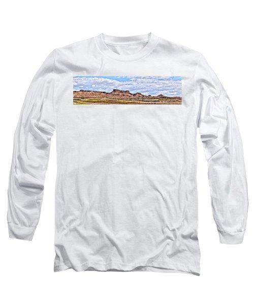 Bardenas Desert Panorama 1 Long Sleeve T-Shirt