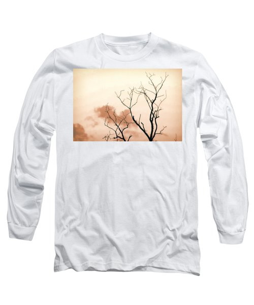 Long Sleeve T-Shirt featuring the photograph Bare Limbs by Denise Romano