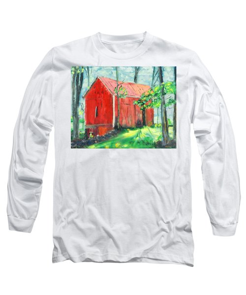 Barn At Walpack Long Sleeve T-Shirt