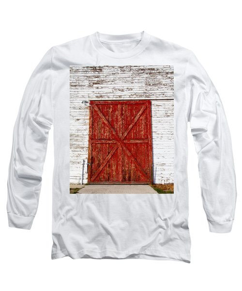 Barn Door Long Sleeve T-Shirt by Fran Riley