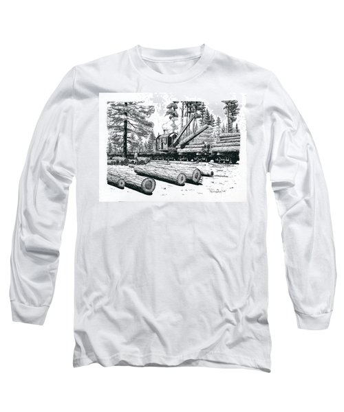 Barnhart Log Loader Long Sleeve T-Shirt