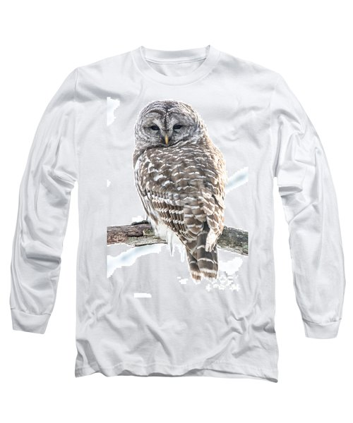 Barred Owl2 Long Sleeve T-Shirt