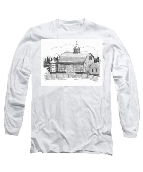 Barrytown Barn Long Sleeve T-Shirt