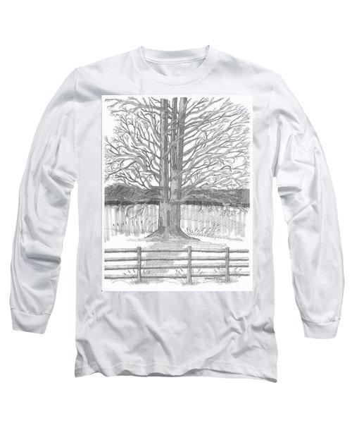 Barrytown Tree Long Sleeve T-Shirt