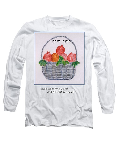 Basket For The New Year Long Sleeve T-Shirt