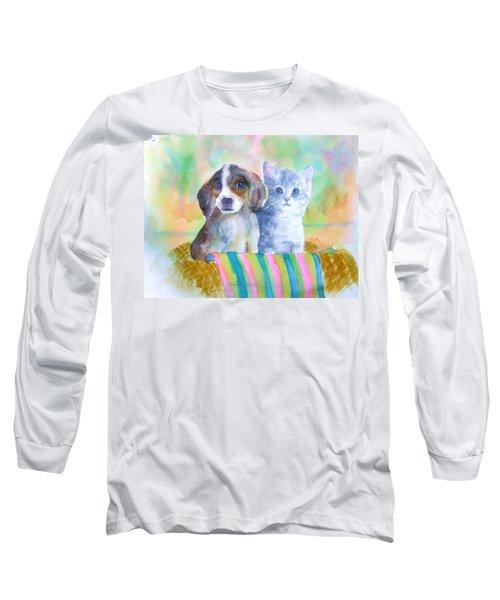 Basket Full Of Love Long Sleeve T-Shirt