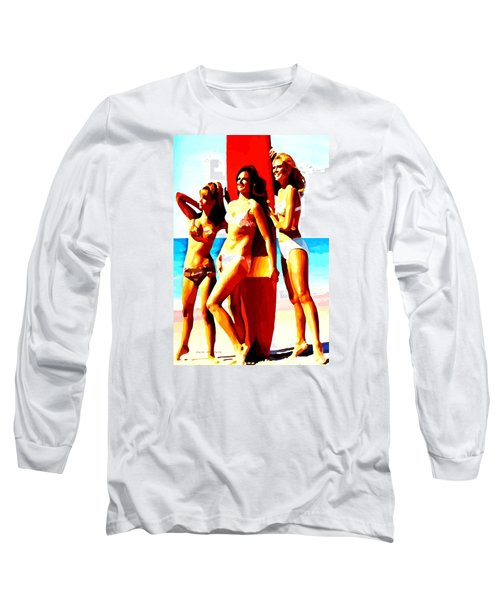 Bathing Beauties No. 3 Long Sleeve T-Shirt