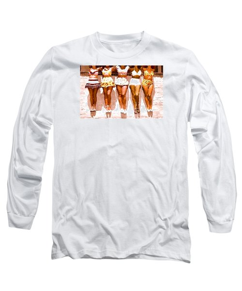 Bathing Beauties No. 4 Long Sleeve T-Shirt