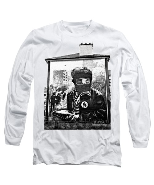 Battle Of The Bogside Mural Long Sleeve T-Shirt