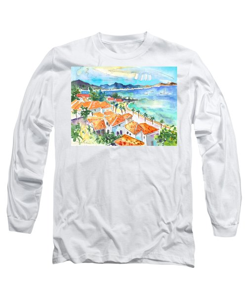 Bay Of Saint Martin Long Sleeve T-Shirt